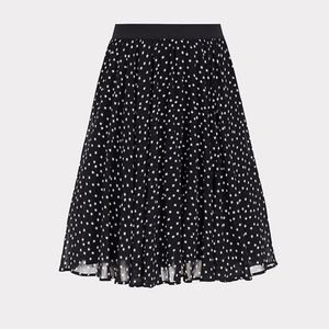 torrid Skirts - Torrid Womens 2 2X 18-20 Black Chiffon Skirt Star